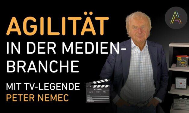Moderator und Autor Peter Nemec im Gespräch