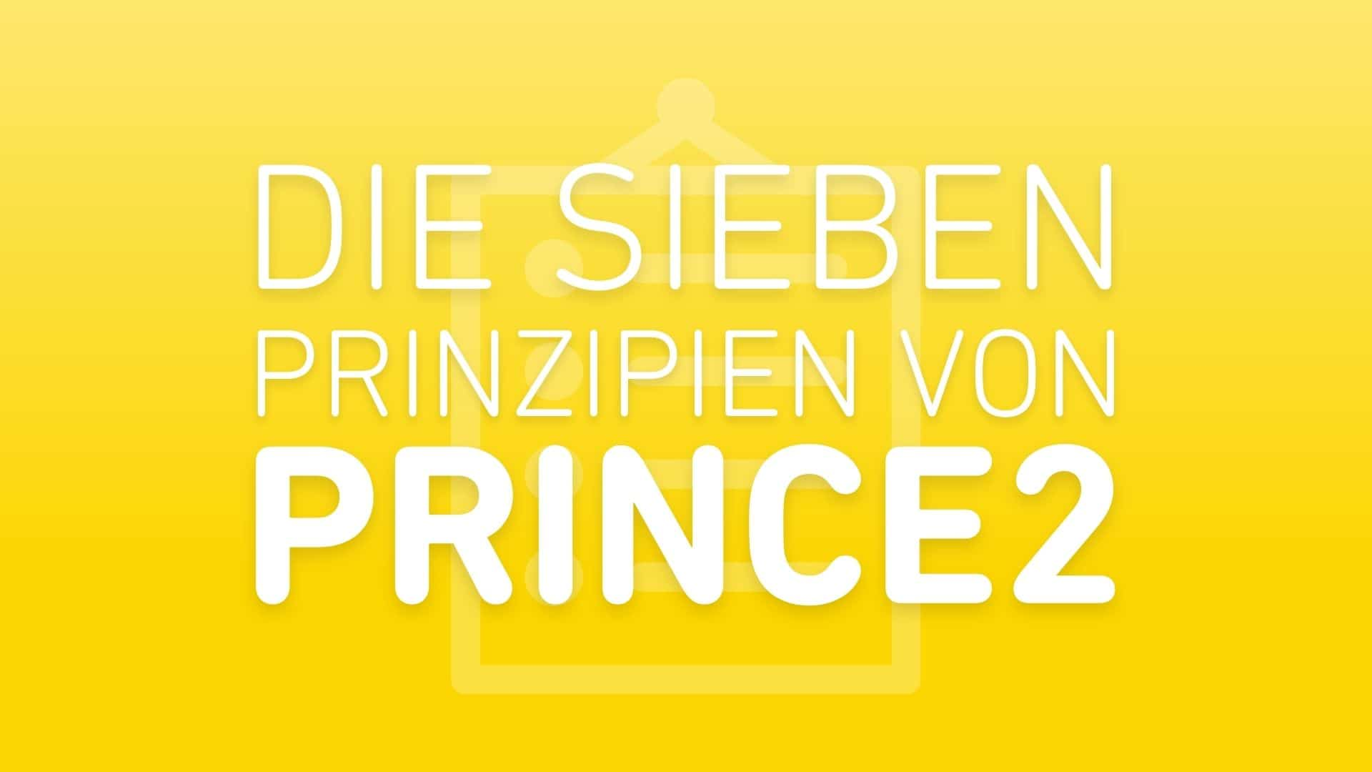 prince2-prinzipien