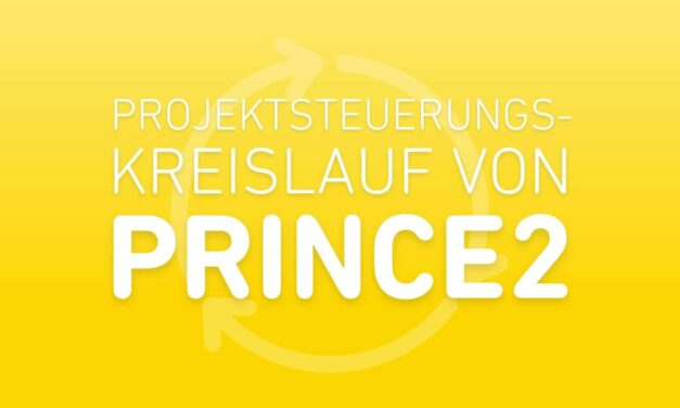 Der PRINCE2 Projektsteuerungskreislauf