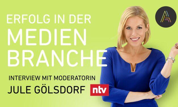 Jule Gölsdorf (n-tv Moderatorin) über Agilität in der Medienbranche