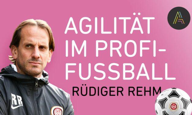 Rüdiger Rehm (Wehen Wiesbaden) über Agilität im Profi-Fußball