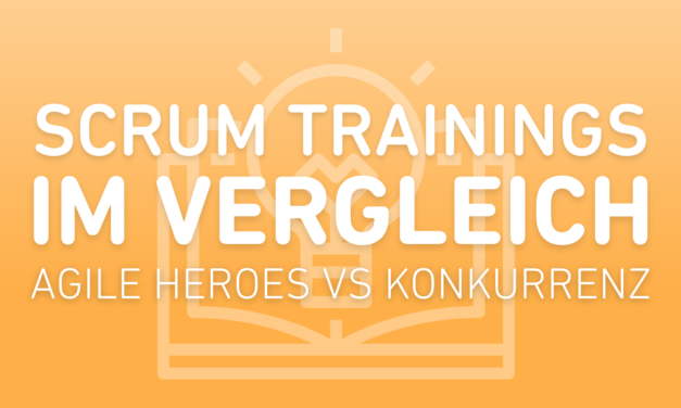 SCRUM Training im Vergleich!
