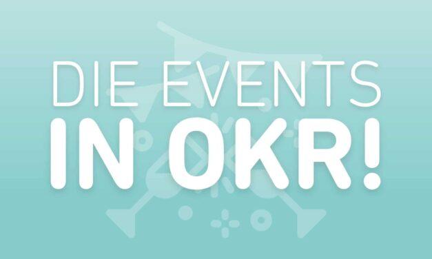 Welche OKR Events gibt es?