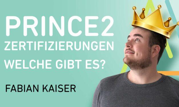 PRINCE2 Zertifizierungen: Welche PRINCE2 Zertifizierungen gibt es?